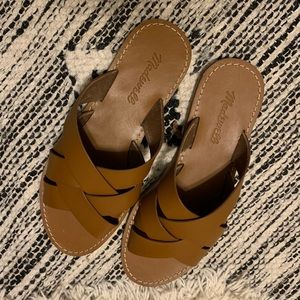 New Madewell Leather Sandals